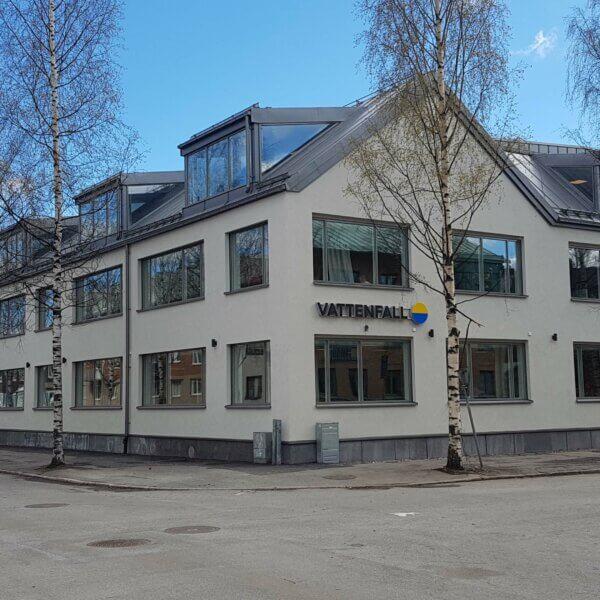 PLG - Vattenfalls kontor