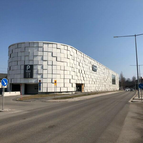 PLG - Järnvägsallén parkeringshus